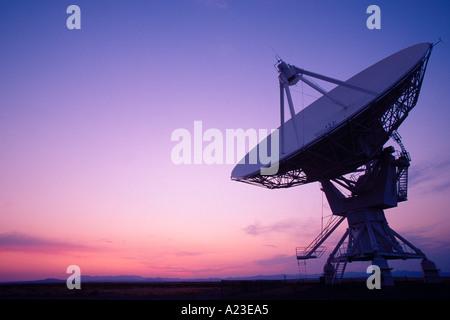 National Radio Astronomy Observatory Very Large Array near Socorro New Mexico - Stock Photo