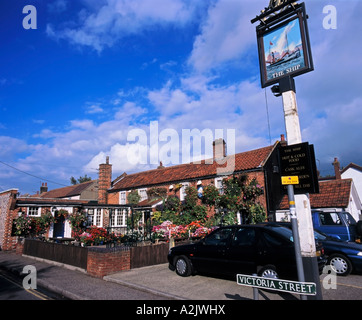 The Ship Traditional English Pub Caister Great Yarmouth Norfolk England Great Britain - Stock Photo