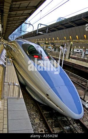 Bullet train Tokyo Japan - Stock Photo