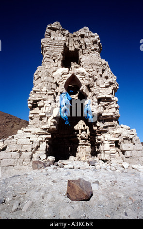 Oct 10, 2006 - Ruins of a temple at Barlim Khiid monastery (Ongiin Khiid complex) in Outer  Mongolia - Stock Photo