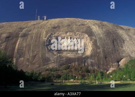 AJ23109, Stone Mountain, Atlanta, GA, Georgia - Stock Photo
