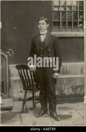 Footman circa 1890 Villiers & Quick, Bristol - Stock Photo