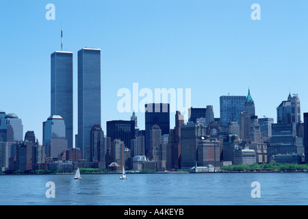New York, Manhattan, cityscape - Stock Photo