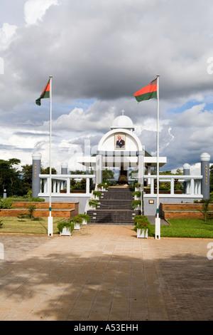 Mausoleum for Ngwazi Dr Hastings Kamuzu Banda, first president of the Republic of Malawi, in Lilongwe Malawi Africa - Stock Photo