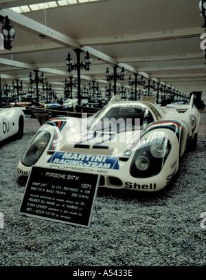 Porsche 917k, Museum Nationale de l'Auto (National Automobile Museum), Mulhouse, Haut Rhin, France. - Stock Photo