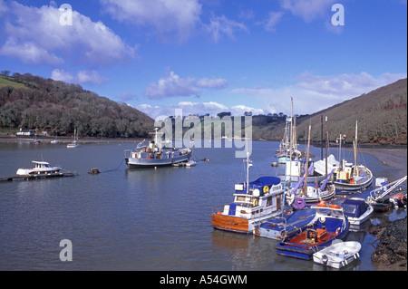 Dartmouth set on the banks of the River Dart, South Devon. England.  XPL 4727-443 - Stock Photo
