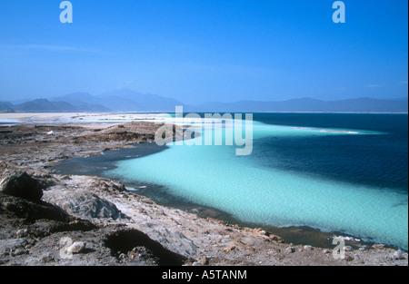 Lac Assal (Assal Lake), Djibouti, Africa - Stock Photo