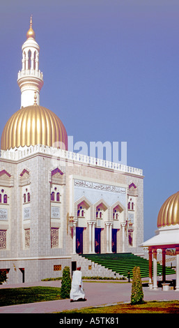 The Zawawi Mosque In Muscat The Capital Of Oman - Stock Photo