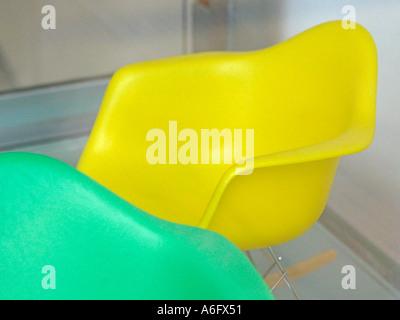 Miniature Eames rocking chair 1 - Stock Photo