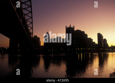 AJ3190, Pennsylvania, PA, Pittsburgh - Stock Photo