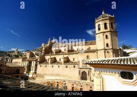 Colegiata de San Patricio / San Patricio church in Lorca, Murcia (Spain) - Stock Photo