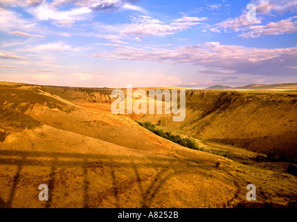 Yakima valley, Washington State, USA - Stock Photo