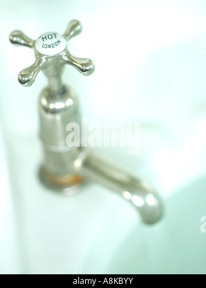 A hot tap - Stock Photo