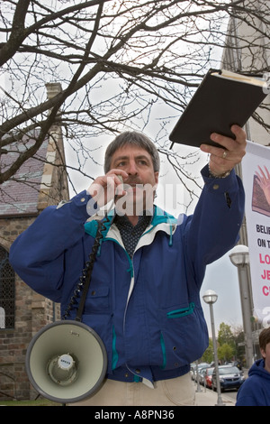 Street Preachers - Stock Photo