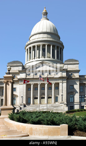 State Capitol building Little Rock Arkansas - Stock Photo