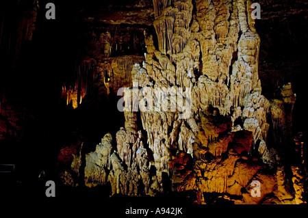 Blanchard Springs Cavern near Mountain View, AR - Stock Photo