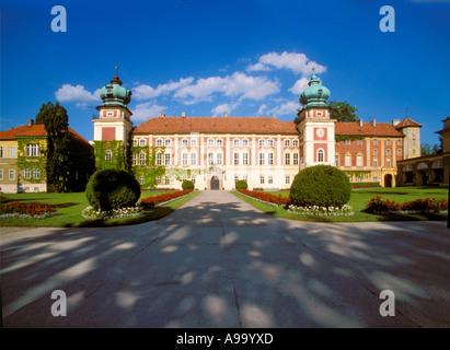 Lancut Castle of Poland - Stock Photo