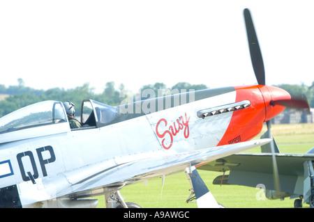 P51 D Mustang - Stock Photo