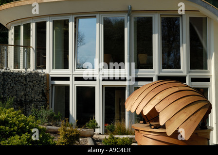 The Pines Calyx Building, St Margarets Bay, Kent - Stock Photo