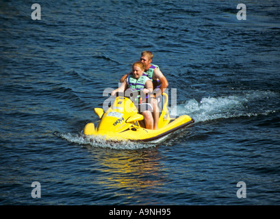 CHELAN WASHINGTON STATE USA August Southern Lake Chelan is a magnet for water sports enthusiasts especially jet - Stock Photo