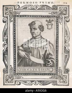 Pope Formosus - Stock Photo