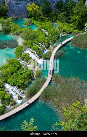 National park Plitvicer lakes, Lika-Senj, Croatia - Stock Photo