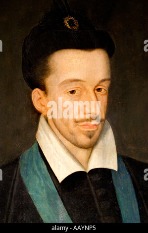 Francois Quesnel Henri III 3 king of France 1551 1589 - Stock Photo