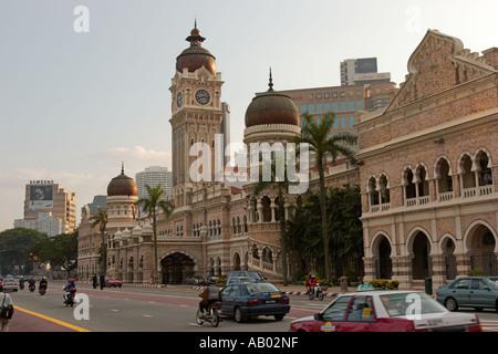 Sultan Abdul Samad building. Kuala Lumpur, Malaysia. - Stock Photo