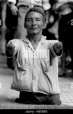 Beggar Belem Brazil - Stock Photo