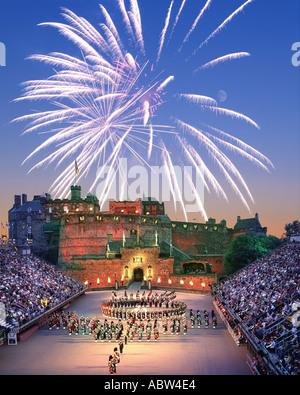 GB - SCOTLAND: The Edinburgh Tattoo - Stock Photo