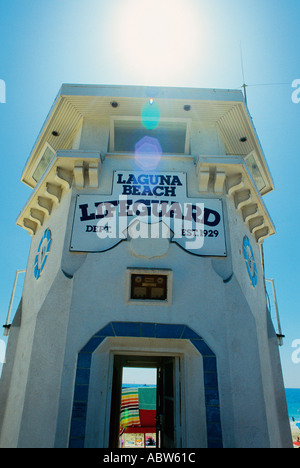 Main Beach Laguna Beach California USA - Stock Photo