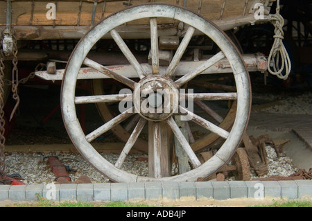 Rural Life Centre - Tilford - Surrey - UK - Madge's Waggon Shed - Stock Photo