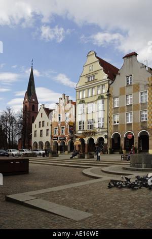 The Old Town, Olsztyn, Poland - Stock Photo