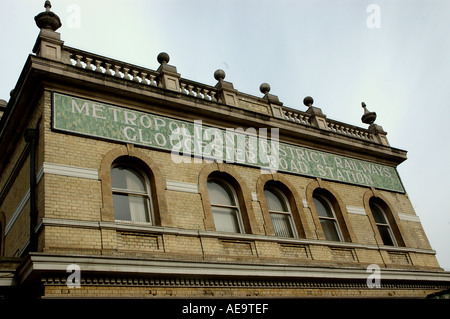 Gloucester Road Underground Station Building in Central London - Stock Photo
