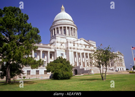 The State Capitol Building at Little Rock Arkansas - Stock Photo