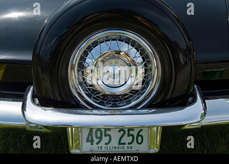 1956 Ford Thunderbird Rear - Stock Photo