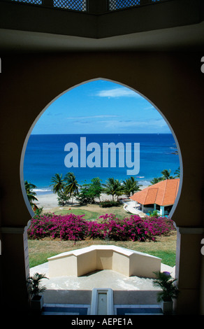 hotel le sport island of saint lucia archipelago of the lesser antilles caribbean editorial use only - Stock Photo