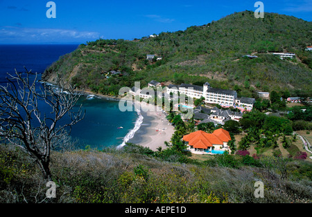 hotel le sport island of saint lucia archipelago of the lesser antilles caribbean - Stock Photo