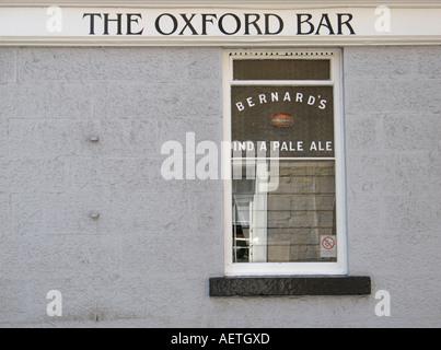 The Oxford Bar on Young Street, Edinburgh, Scotland, UK. - Stock Photo