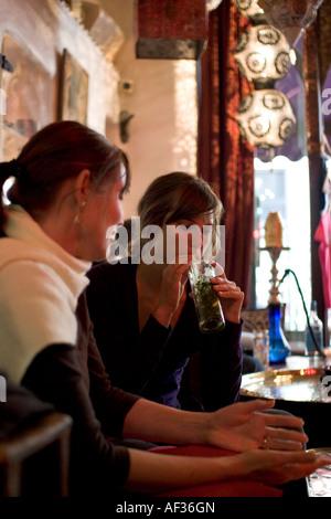 Momo sheesha Bar and Restaurant Heddon Street London - Stock Photo
