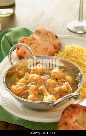 vegetable Korma - Stock Photo
