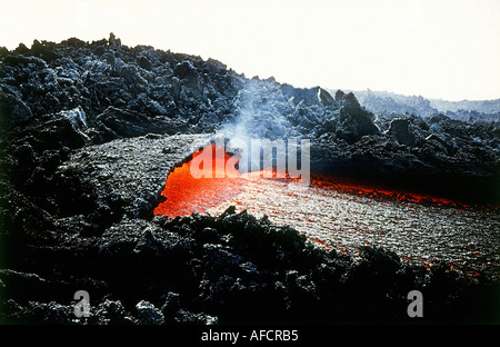 geography / travel, Italy, Sicily, volcanos, eruption of Mount Etna, Europe, geology, formation, force of nature, - Stock Photo
