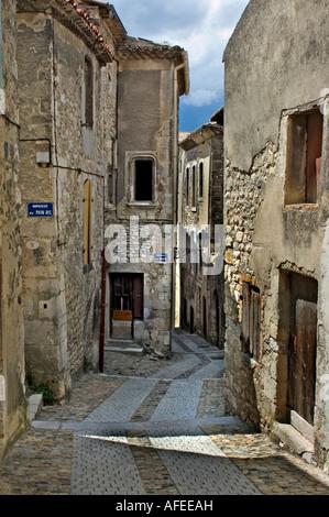 Vivier Ardèche Rhône Alpes Rhone Valley France Medieval French city - Stock Photo