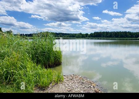 rybnik Prostredni, pamatnik Sudomer (1420 bitva Jana Zizky) u Strakonic, - Stock Photo
