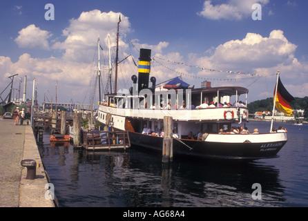 AJ17197, Flensburg, Germany, Schleswig-Holstein, Baltic Sea, Europe - Stock Photo