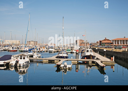 The Marina at Hartlepool England UK - Stock Photo