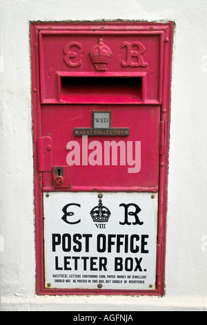 Edward VIII Post Box - Stock Photo