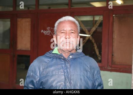 Cuba Havana old man in the street - Stock Photo