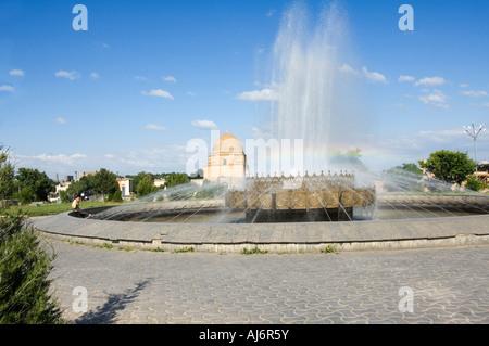 Ruchabad Mausoleum Samarkand, Uzbekistan - Stock Photo