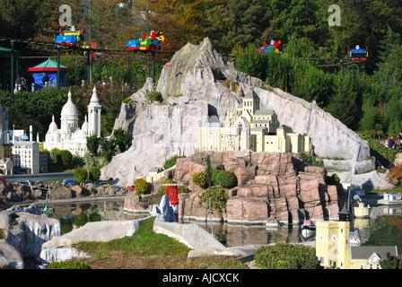 Miniland, Legoland Windsor, Windsor, Berkshire, England, United Kingdom - Stock Photo